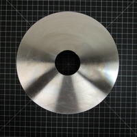 """Other image of a CD4M Rear Cover Plate to fit Durco Group 2 8"""""""