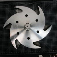 316SS Impeller to fit Durco Group 3 10x8-17