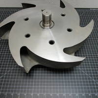 Other image of a 316SS Impeller to fit Durco Group 3 10x8-17