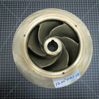 Other image of a Bronze Impeller with Impeller Rings flashed for White Water to fit Goulds 3405M 8X10-12DV