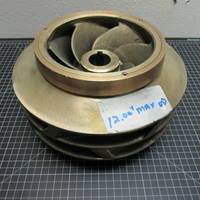 Bronze Impeller with Impeller Rings flashed for White Water to fit Goulds 3405M 8X10-12DV