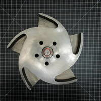 Other image of a Hastelloy C Impeller to fit Durco Mark 2/3 Group 2 6x4-13