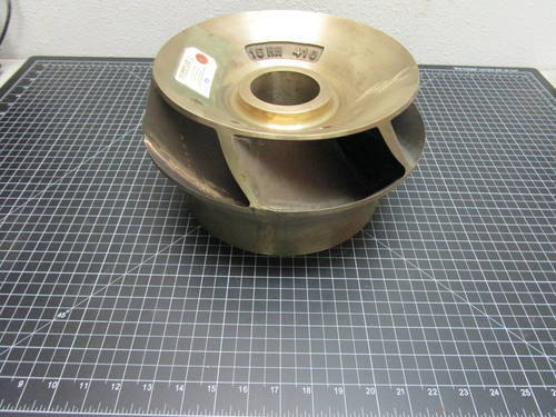 Featured image of a Bronze impeller to fit Flowserve 15HH 410