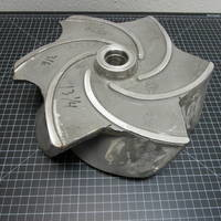Other image of a 316SS Impeller to fit  Goulds 3196 XLT/XLTX/XLTI 8x10-15