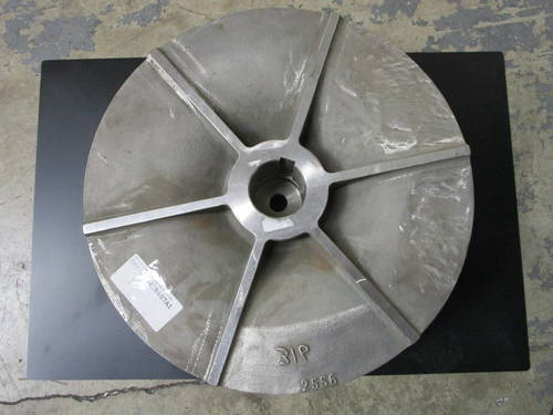 Featured image of a 316SS Impeller to fit Warren 3202 14X14-22