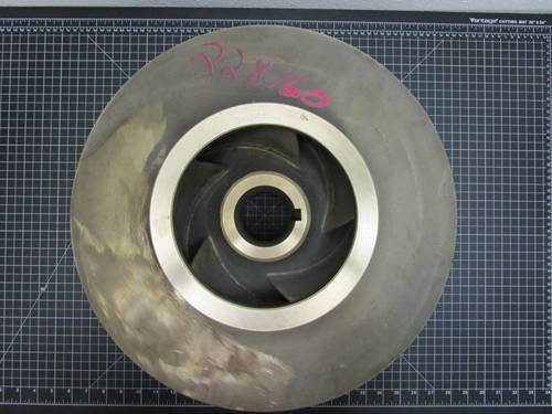Featured image of a Bronze  Impeller to fit Goulds 3410L 8x10-17