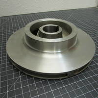 Other image of a 316SS Left Hand First Stage Impeller to fit Worthington 3LLR11