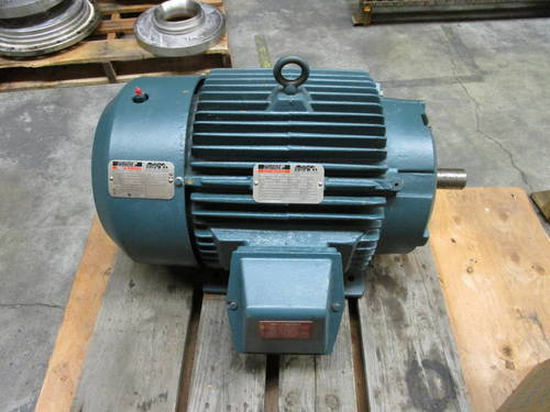 Featured image of a Baldor Reliance Duty Master 30 HP 3540 RPM 841XL Electric Motor
