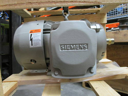 Featured image of a Siemens SD100 IEEE-841 Severe Duty 10HP 1755 RPM Electric Motor