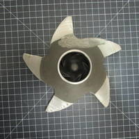 Titanium Impeller to fit Durco Mark 2 Group 1 1.5x1-8