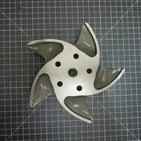 Other image of a Titanium Impeller to fit Durco Mark 2 Group 1 1.5x1-8