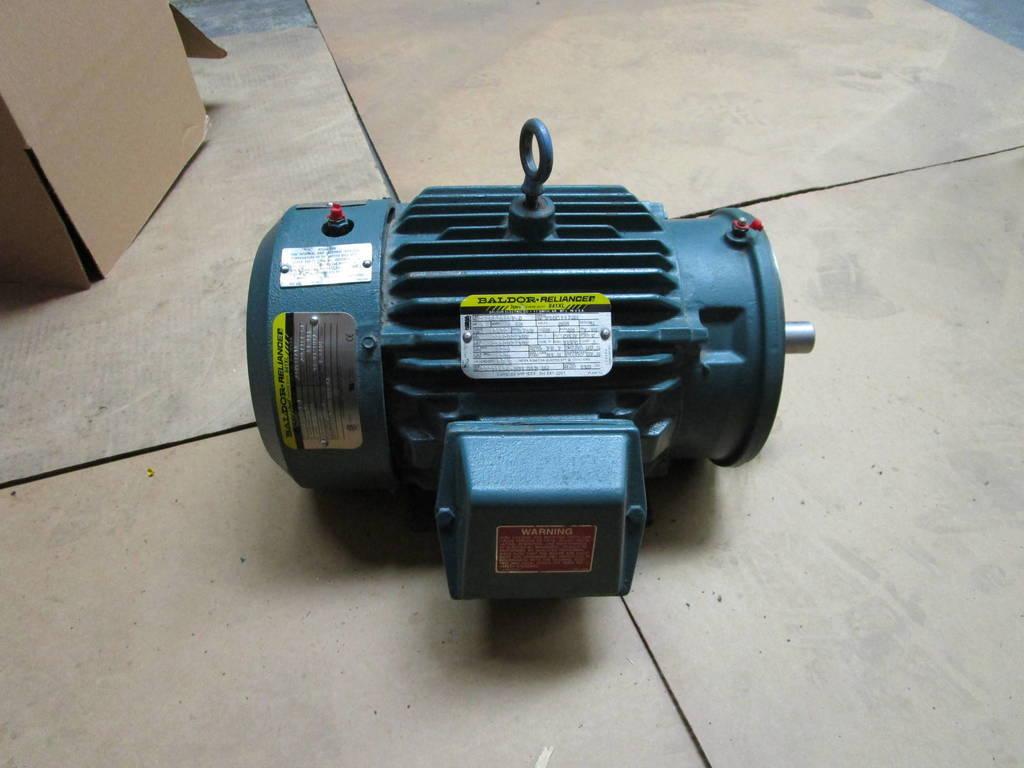 Baldor reliance super e severe duty frame 184tc 5 hp 1750 for Baldor reliance super e motor