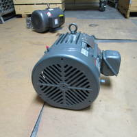 Other image of an U.S. Motors E064B Frame 215 5 HP 1770 RPM Electric Motor