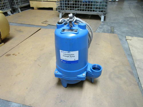 "Featured image of a Goulds WS0511B 1/2 HP 1725 RPM 2"" NPT Submersible Sewage Pump"