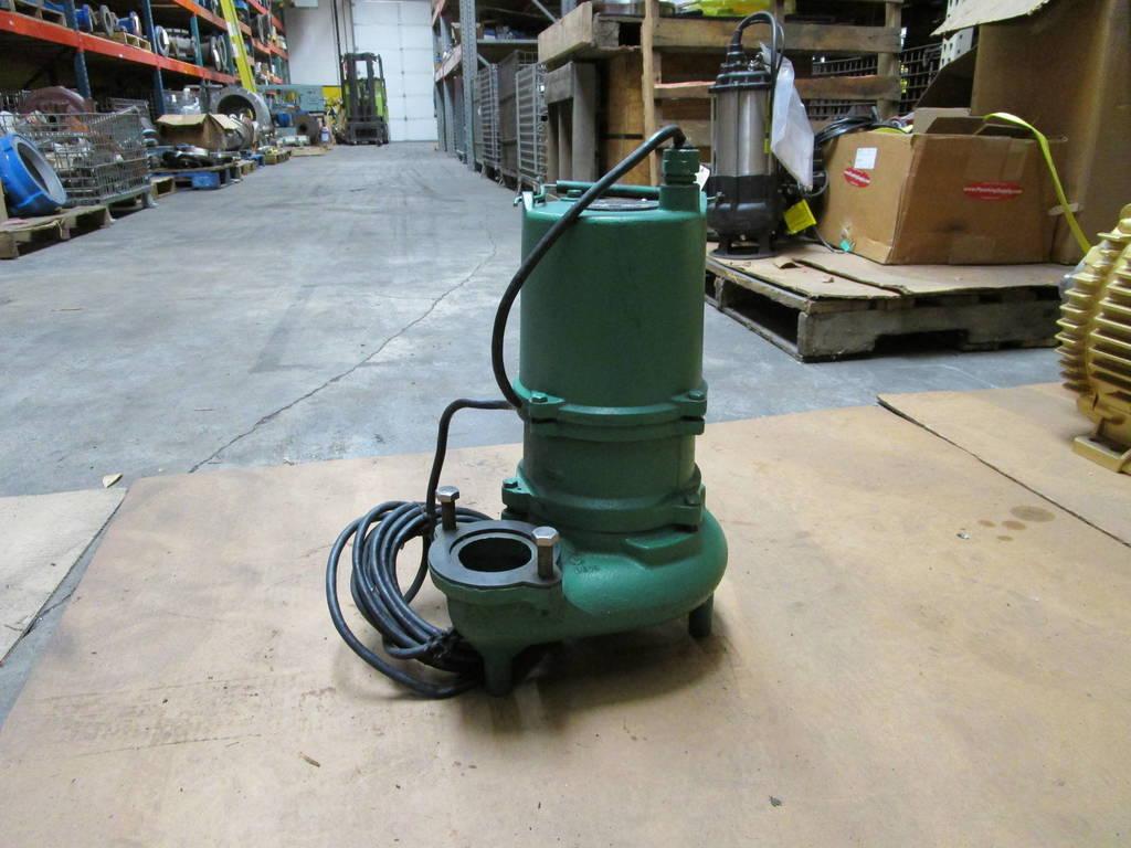 Hydromatic Pumps Model Skhs50m2 0 5 Hp 230 Volt Submersible Sump  Effluent  Sewage Pump