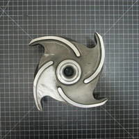 Other image of an Alloy 20 Impeller to fit Goulds 3196 MTX 3x4-8