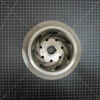 316SS Closed Impeller to fit Worthington D1011 Frame 3 6x4-10