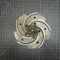 Other image of a 316SS Impeller to fit Goulds 3196 LTX 2x3-13