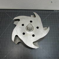 Other image of a 316SS Impeller to fit Durco Group 3 8x6-14A