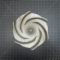 316SS Impeller to fit Ingersoll-Rand HOC 2 Group 2 6x4-10