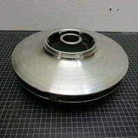 Other image of a 316SS Impeller to fit Allis Chalmers 7000 Custom 7 8x6-17