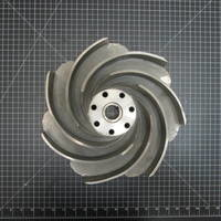 316SS Impeller to fit Worthington D1011 Frame 3 6x4-13