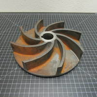 Other image of a Cast Iron Impeller to fit Wemco Model E 4x4x11 or 6x6x11