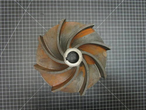 Featured image of a Cast Iron Impeller to fit Wemco Model E 4x4x11 or 6x6x11