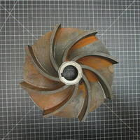 Cast Iron Impeller to fit Wemco Model E 4x4x11 or 6x6x11