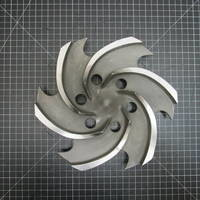 329SS Impeller to fit Sulzer CPT 24-3 4x3-13