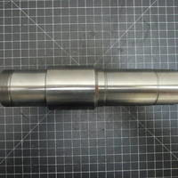Other image of a 1018/Chrome Oxide (Ceramic) Solid 1-Piece Shaft to fit Durco Mark 2 Group 2