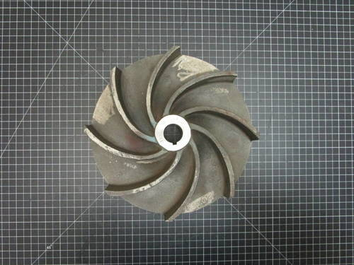 Featured image of a Stainless Steel Impeller to fit Wemco Model E 4x4x11 M or 6x6x11 M