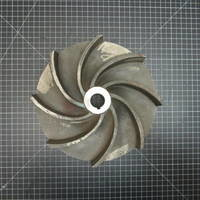 Stainless Steel Impeller to fit Wemco Model E 4x4x11 M or 6x6x11 M