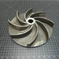 Other image of a Stainless Steel Impeller to fit Wemco Model E 4x4x11 M or 6x6x11 M