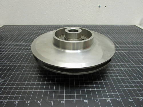 Featured image of a 317SS Impeller to fit Ingersoll-Rand 2X10A