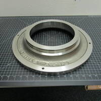 Other image of a 316SS Suction Sideplate to fit Goulds 3180 L 6x10-16