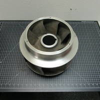 317SS Impeller with Rings to fit Goulds 3410 XL 10x12-12H