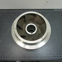 Other image of a 317SS Impeller with Rings to fit Goulds 3410 XL 10x12-12H