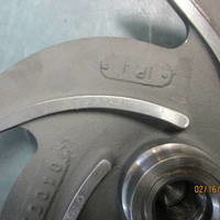 Other image of a Titanium Impeller to fit Goulds 3196MT / MTX / MTi  2x3-10