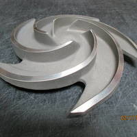 Other image of a Titanium Impeller to fit Goulds 3196MT / MTX / MTi  1.5x3-10 Trimmed Dia 9.750