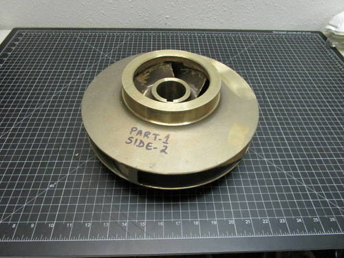 Featured image of a Bronze Impeller to fit Goulds 3410S 4x6-11