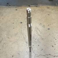 Shaft to fit Worthington 1.5LLR7, 1.5LLR10, and 2LLR9