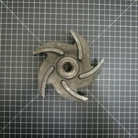 Image of this particular Iron Impeller to fit Goulds 3196/3796 STX 1x1.5-6 and 3996 ST 1.5x2-6