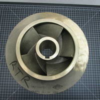Image of this particular Bronze Impeller to fit Worthington 10LR14/15B