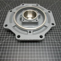 """Image of this particular 316SS Rear Cover Plate to fit Durco Mark 2 Group 1 8"""""""
