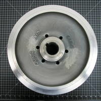 Image of this particular 316SS Impeller to fit Worthington D1011 Frame 4 10x8-13