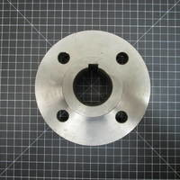 """Image of this particular 316SS Shaft Flange to fit Goulds 3135 M 16"""" and 18"""""""