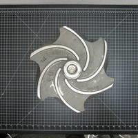 Image of this particular 316SS Impeller to fit  Goulds 3196 XLT/XLTX/XLTI 8x10-15