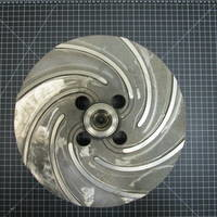 Image of this particular 329SS Impeller to fit Sulzer APT33-4 6x4-16