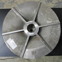 Image of this particular 316SS Impeller to fit Warren 3202 14X14-22